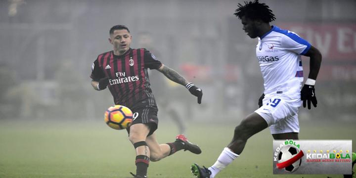 Prediksi Skor Akhir AC Milan Vs Atalanta 24 Desember 2017