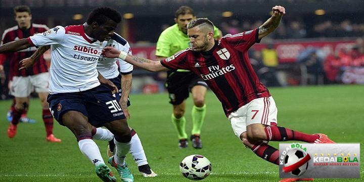 Prediksi Skor Akhir Cagliari Vs AC Milan 22 Januari 2018
