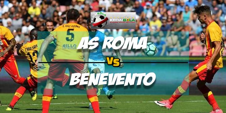 Prediksi Skor Akhir AS Roma Vs Benevento 12 Februari 2018