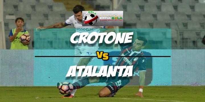Prediksi Skor Akhir Crotone Vs Atalanta 11 Februari 2018