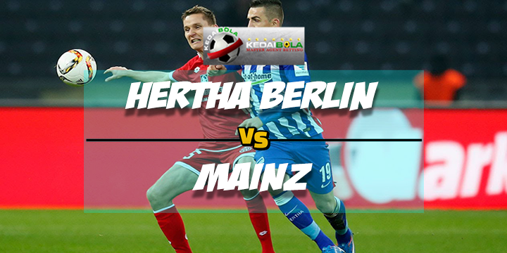 Prediksi Skor Akhir Hertha Berlin Vs Mainz 17 Februari 2018