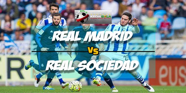 Prediksi Skor Real Madrid Vs Real Sociedad 11 Februari 2018
