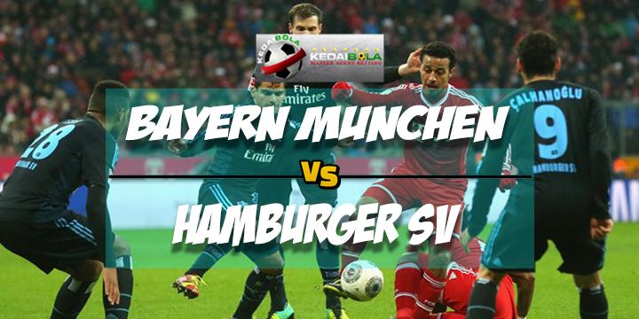 Prediksi Skor Akhir Bayern Munchen Vs Hamburger SV 10 Maret 2018