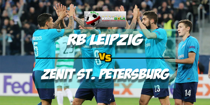 Prediksi Skor Akhir RB Leipzig Vs Zenit St. Petersburg 9 Maret 2018