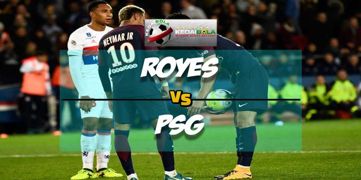 Prediksi Skor Akhir Troyes Vs Paris Saint Germain 3 Maret 2018