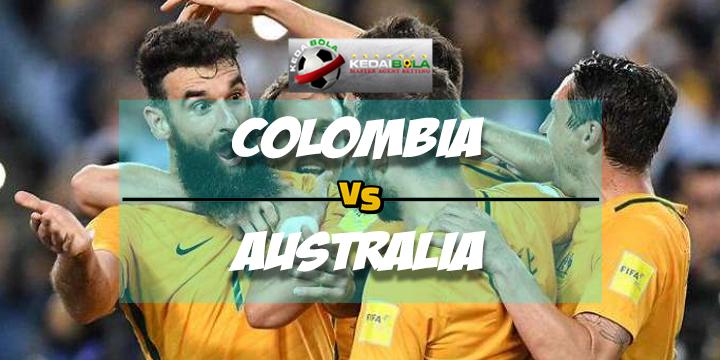 Prediksi Skor Colombia Vs Australia 28 Maret 2018
