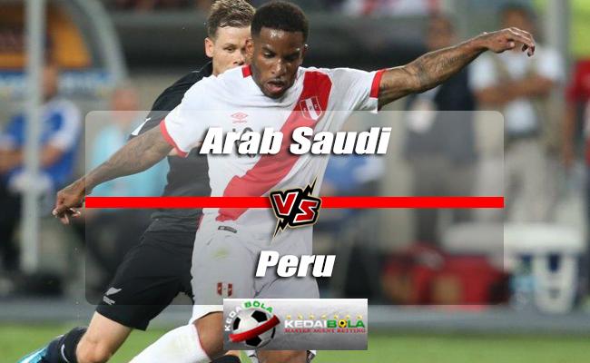Prediksi Skor Akhir Arab Saudi Vs Peru 4 Juni 2018