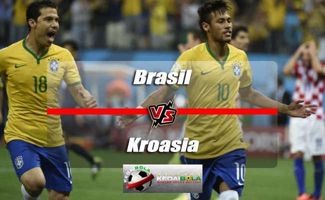 Prediksi Skor Akhir Brasil Vs Kroasia 3 Juni 2018