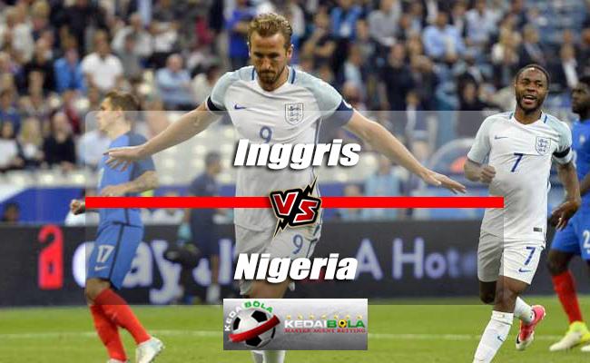 Prediksi Skor Akhir Inggris Vs Nigeria 2 Juni 2018