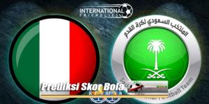 Prediksi Skor Akhir Italia Vs Arab Saudi 29 Mei 2018
