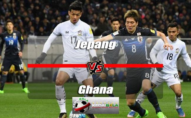 Prediksi Skor Akhir Jepang Vs Ghana 30 Mei 2018