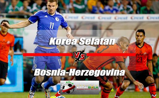 Prediksi Skor Akhir Korea Selatan Vs Bosnia-Herzegovina 1 Juni 2018