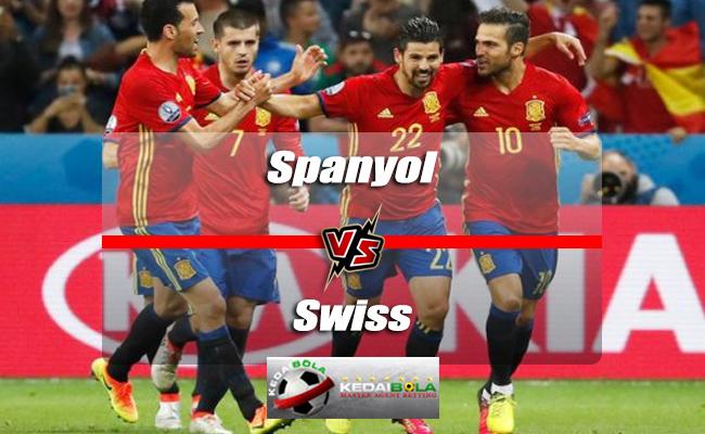 Prediksi Skor Akhir Spanyol Vs Swiss 4 Juni 2018