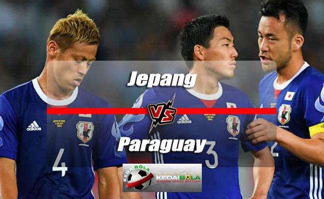 Prediksi Skor Akhir Jepang Vs Paraguay 12 Juni 2018
