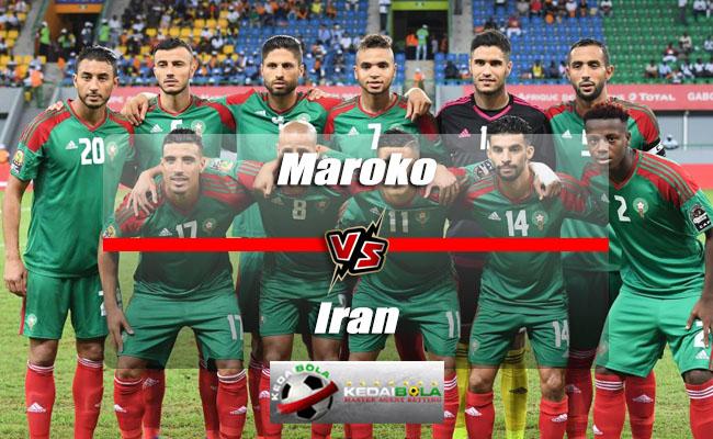 Prediksi Skor Akhir Maroko Vs Iran 15 Juni 2018