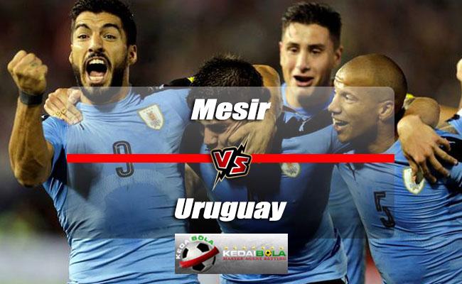 Prediksi Skor Akhir Mesir Vs Uruguay 15 Juni 2018