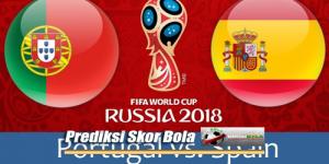 Prediksi Skor Akhir Portugal Vs Spanyol 16 Juni 2018