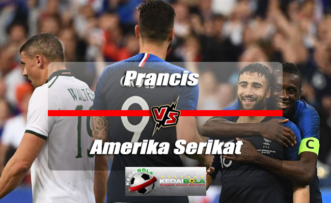 Prediksi Skor Akhir Prancis Vs Amerika Serikat 10 Juni 2018