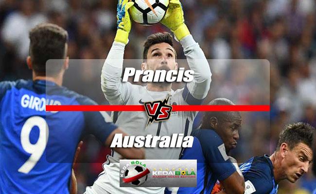 Prediksi Skor Akhir Prancis Vs Australia 16 Juni 2018