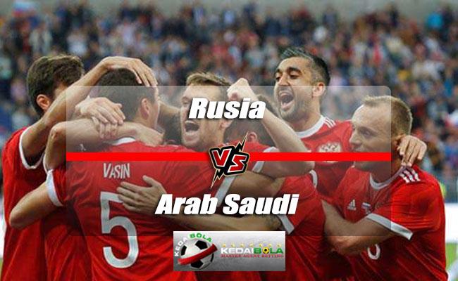 Prediksi Skor Akhir Rusia Vs Arab Saudi 14 Juni 2018