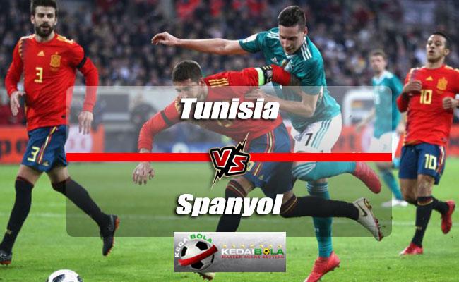 Prediksi Skor Akhir Tunisia Vs Spanyol 10 Juni 2018