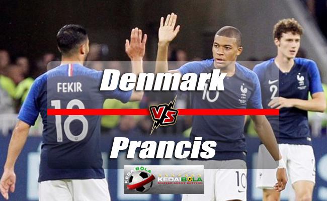 Prediksi Skor Denmark Vs Prancis 26 Juni 2018 Piala Dunia 2018