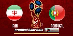 Prediksi Skor Iran Vs Portugal 26 Juni 2018 Piala Dunia 2018