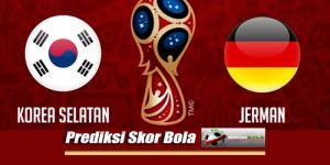 Prediksi Skor Korea Selatan Vs Jerman 27 Juni 2018 Piala Dunia 2018