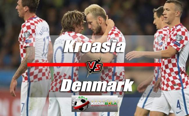 Prediksi Skor Kroasia Vs Denmark 2 Juli 2018 Piala Dunia 2018