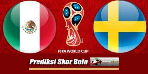 Prediksi Skor Meksiko Vs Swedia 27 Juni 2018 Piala Dunia 2018