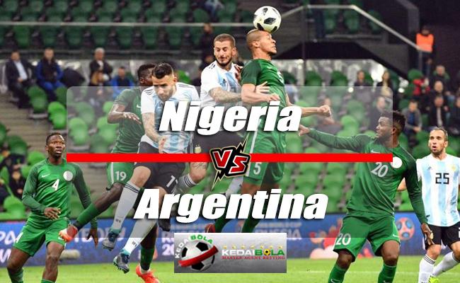 Prediksi Skor Nigeria Vs Argentina 27 Juni 2018 Piala Dunia 2018