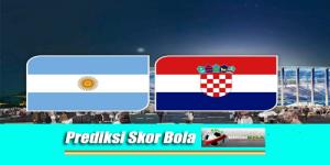 Prediksi Skor Piala Dunia Argentina Vs Kroasia 22 Juni 2018