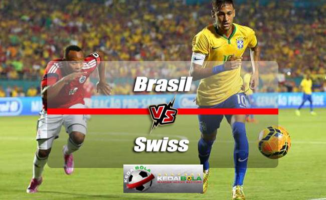 Prediksi Skor Piala Dunia Brasil Vs Swiss 18 Juni 2018