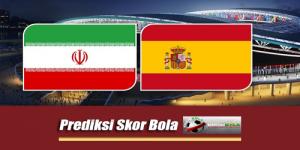 Prediksi Skor Piala Dunia Iran Vs Spanyol 21 Juni 2018