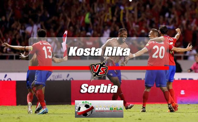 Prediksi Skor Piala Dunia Kosta Rika Vs Serbia 17 Juni 2018