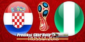 Prediksi Skor Piala Dunia Kroasia Vs Nigeria 17 Juni 2018
