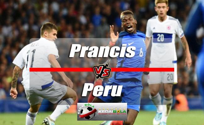 Prediksi Skor Piala Dunia Prancis Vs Peru 21 Juni 2018
