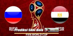 Prediksi Skor Piala Dunia Rusia Vs Mesir 20 Juni 2018
