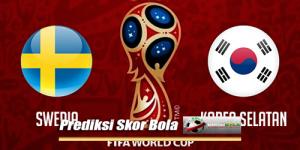 Prediksi Skor Piala Dunia Swedia Vs Korea Selatan 18 Juni 2018