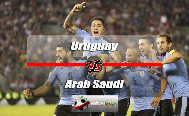 Prediksi Skor Piala Dunia Uruguay Vs Arab Saudi 20 Juni 2018