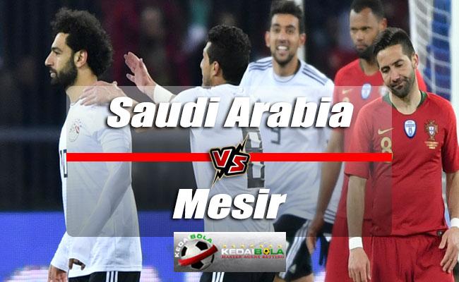 Prediksi Skor Saudi Arabia Vs Mesir 25 Juni 2018 Piala Dunia 2018
