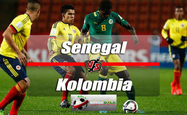 Prediksi Skor Senegal Vs Kolombia 28 Juni 2018 Piala Dunia 2018