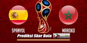 Prediksi Skor Spanyol Vs Maroko 26 Juni 2018 Piala Dunia 2018