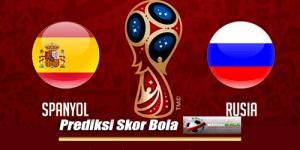 Prediksi Skor Spanyol Vs Rusia 1 Juli 2018 Piala Dunia 2018