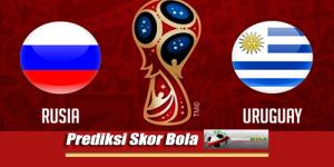 Prediksi Skor Uruguay Vs Rusia 25 Juni 2018 Piala Dunia 2018