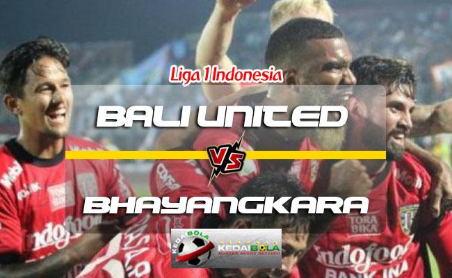 Prediksi Skor Bali United Vs Bhayangkara 21 Juli 2018