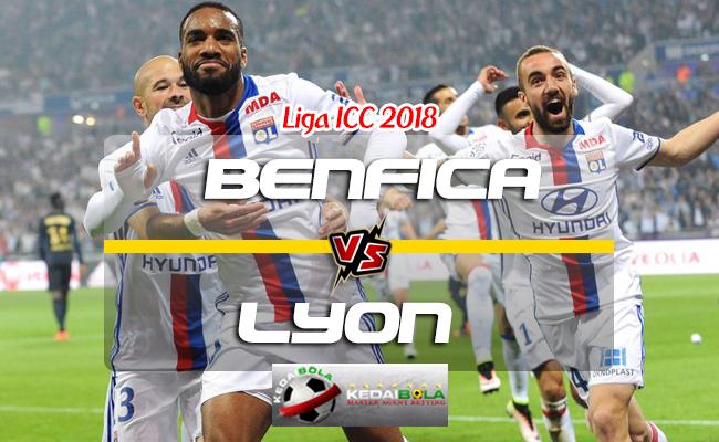 Prediksi Skor Benfica Vs Lyon 2 Agustus 2018