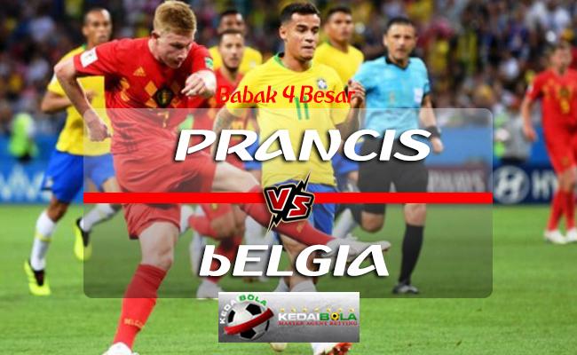 Prediksi Skor Prancis Vs Belgia 11 Juli 2018 Piala Dunia 2018