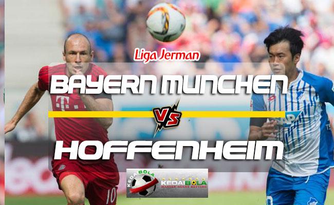 Prediksi Skor Bayern Munchen Vs Hoffenheim 25 Agustus 2018