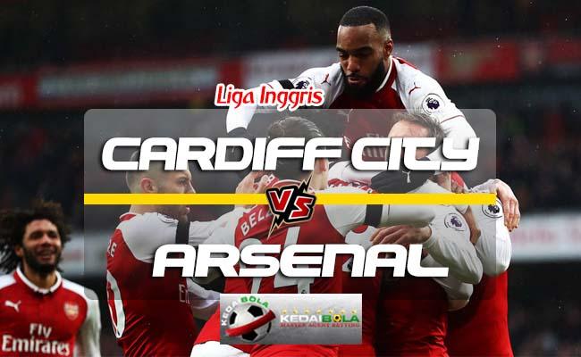 Prediksi Skor Cardiff City Vs Arsenal 2 September 2018